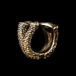 Brass Ring Skull Jewelry Brass Skull ring HTJ37