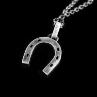 Horseshoe 925 silver necklace Pendant SSP67