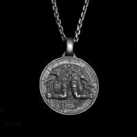 Anubis Pendant Sterling Silver Pharaoh Anubis Horus pendants SSP115