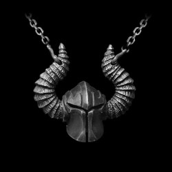 Helmet of God of war pendant 925 Sterling Silver God of war helmet Necklace pendants SSP121