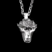 Great Sage Equalling Heaven Monkey 925 silver Monkey king pendants SSP92