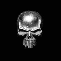 Multi tooth skull ring Skull Jewelry 925 Silver Skull ring SSJ19