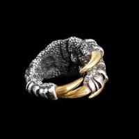 Eagle Claw silver ring brass Sharp claws SSJ100