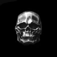 Handmade S925 silver skull rings SSJ103