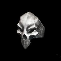 Death skull ring 925 Sterling Silver ring SSJ107