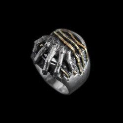 Breach live out the self ring 925 silver ring SSJ123