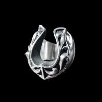Lucky Horseshoe Ring 925 silver Horseshoe rings SSJ155