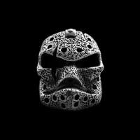 Jason Voorhees skull ring 925 Sterling silver original handmade Jason skull rings SSJ185