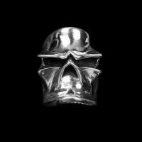Dante mask skull ring 925 Sterling silver original handmade Dante skull rings SSJ186