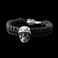 Skull Bracelet Silver Skull Bracelets SSB10