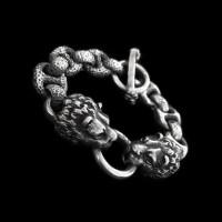 Skull Jewelry Silver Skull Bracelets SSB18